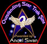 Outstanding Star Trek Site Awarded by Angel Swan